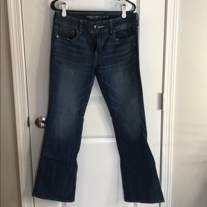 Ae stretch jeans.